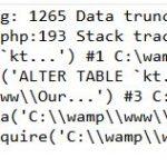 3.3.2 database error on upgrade